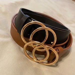 Black and brown belt